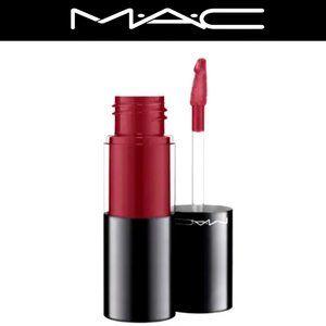 MAC NEW Deep Burgundy Red / Purple Lip Gloss